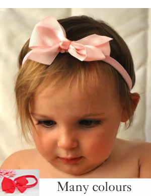 Gorgeous Classic Grosgain Bow Headband