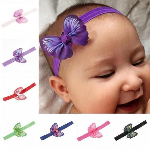 Beautiful Butterfly Baby Headband