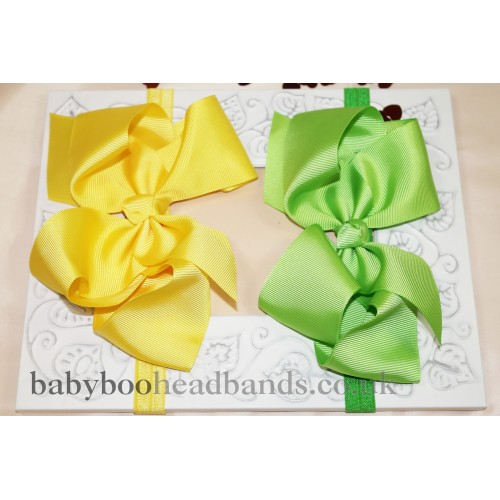 Luxury 6 inch Bow Baby Headband
