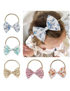 Lovely 5inch Floral Boutique Bow Headband
