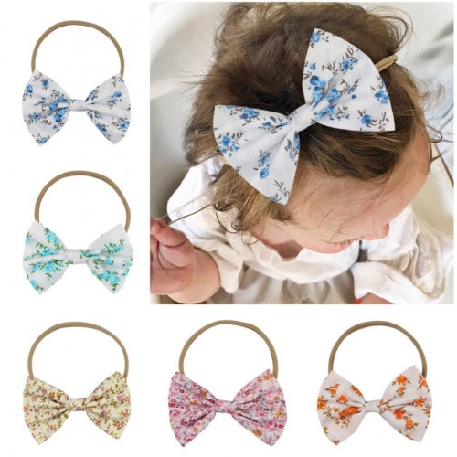 Lovely 5inch Floral Boutique Bow