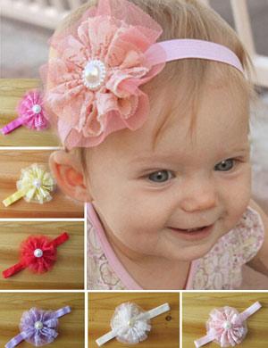 Christening Baby Headband