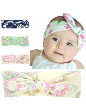 Luxury Fabric 'Pastel Perfect' Floral Topknot Baby Headband Collection