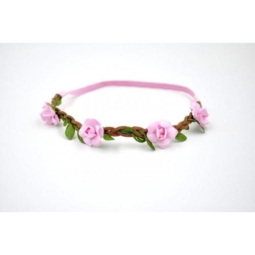 Stretch Summertime Flowers Headband