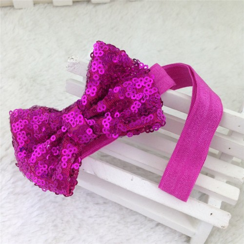 Super Sequin 3-inch Boutique Bow Baby Headband