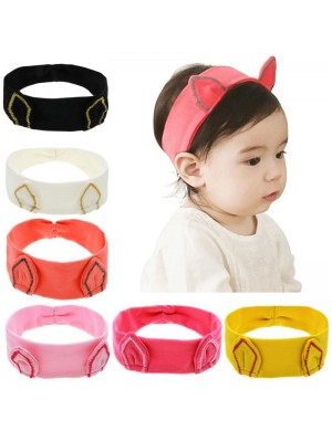Comfy Cat Ears Stretch Fabric Baby Headband