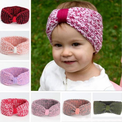 Luxury Wool Handmade Baby Headwrap - Ltd Edition