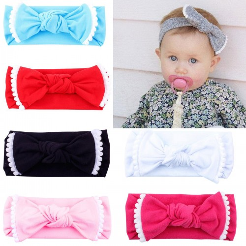 Comfort Fit Luxury Soft Cotton Bow Headwrap