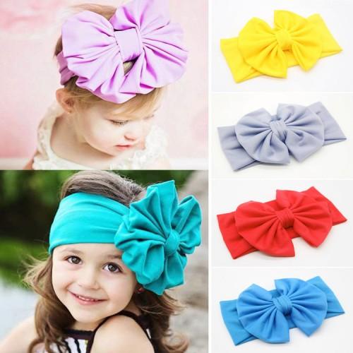 Adorable Comfort Fit Oversize Boutique Bow Headwrap