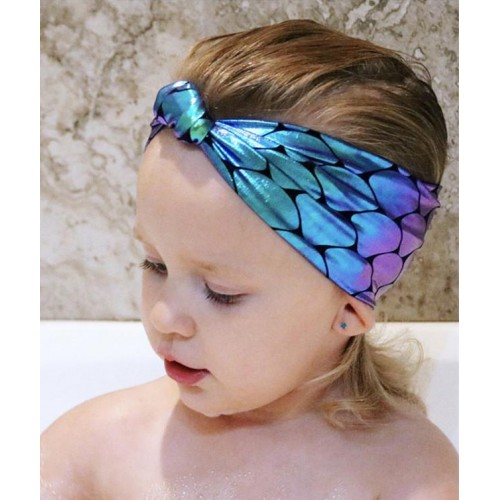 Majestic Mermaid - Super Cute Baby Headwrap
