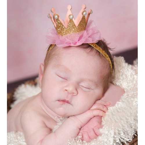 Crown Perfection Baby Headband
