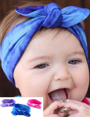 Gorgeous Tie Dye Top Knot Headband Collection