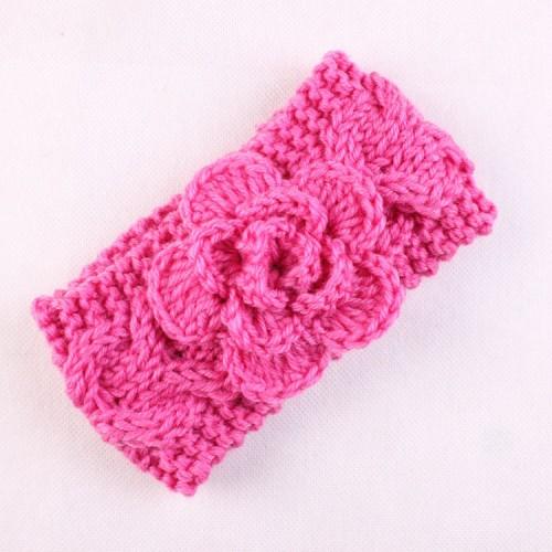 Luxury Handmade Wooly Rose Headwrap
