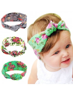 Vintage Floral Turban Baby Headband