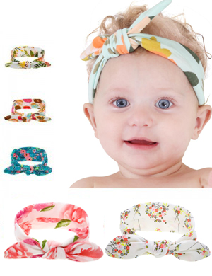 Luxury Fabric Vibrant Top Knot Headband Collection