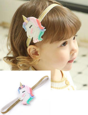 Unicorn Ltd Edition Baby Headband