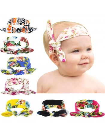 Luxury Fabric Retro Bunny Ears Headband Collection 2