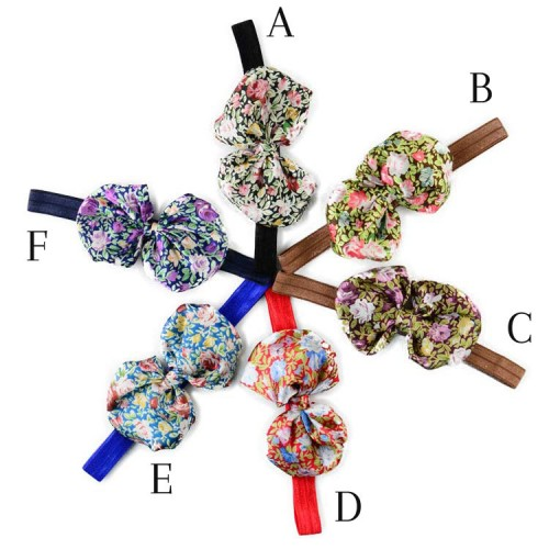 Orient - Floral Boutique Bow Baby Headband