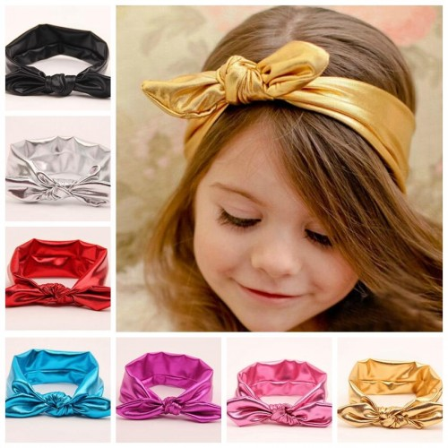 Luxury Top Knot Vibrant Shimmer Baby Headband