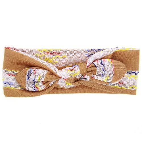 Florence - Shabby Lace Luxury Top Knot Headband