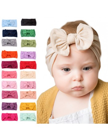 Jessica - Luxury Comfort Bow Baby Headwrap