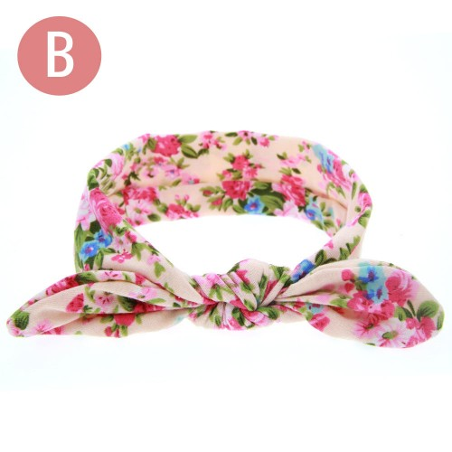Camellia - Luxury Boho Floral Top Knot Baby Headband