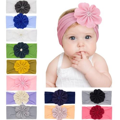 Georgia - Luxury Gorgeous Flower Baby Headwrap