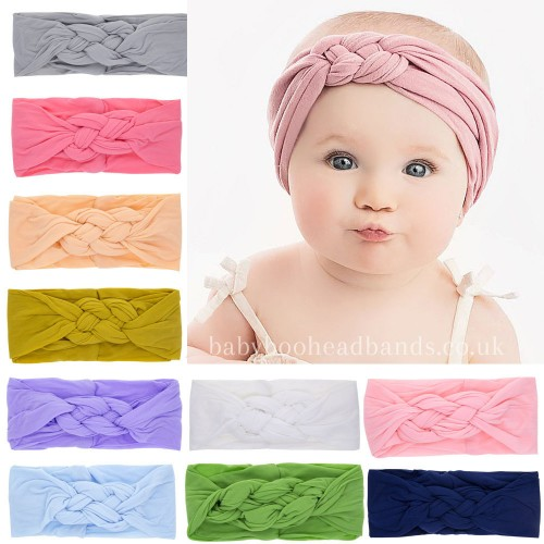 Amalie - Luxury Pastel Turban Baby Headband