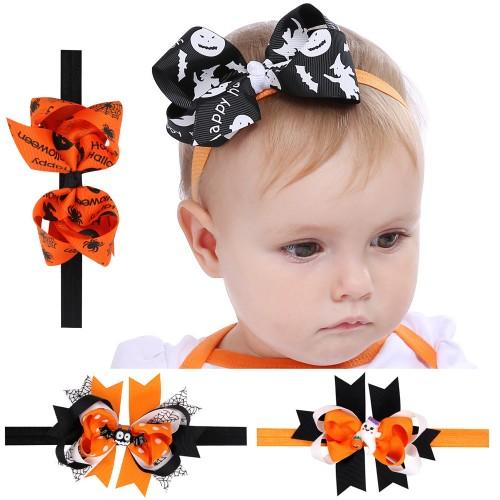 Morticia - Spooktacular Halloween Baby Headband Collection