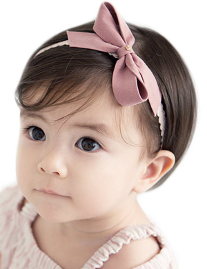 Mei - Luxury Bow Baby Headband