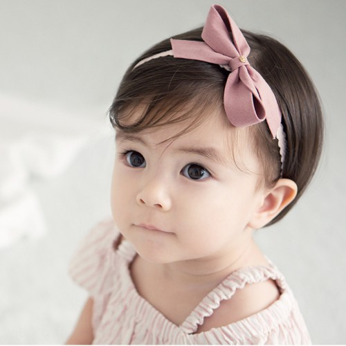 Fabulous Matte Felt Bow Baby Headband