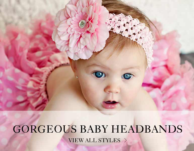 view all baby headbands