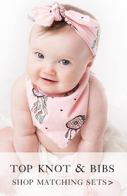 top knot babies headband